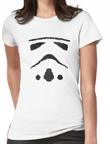 Rorschach Storm Trooper Womens Fitted T-Shirt