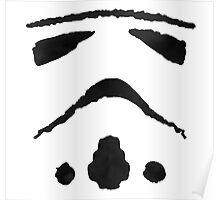 Rorschach Storm Trooper Poster