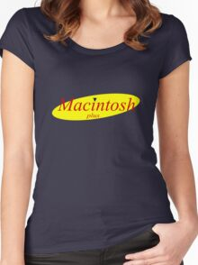 Macintosh Plus Women's Fitted Scoop T-Shirt
