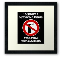 Sustainable Future  Framed Print