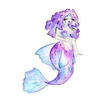 Curvy Mermaid - Betta  Photographic Print