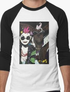Tank Girl and Booga Men's Baseball ¾ T-Shirt