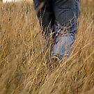 Walking through the fields by Richard Keech