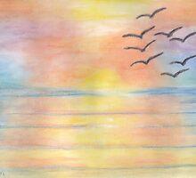 Rainbow Sunset by Lallinda