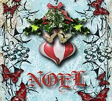 mistletoe n holly by geot