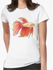 Fish 3 Womens Fitted T-Shirt