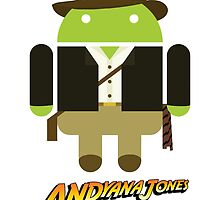 Andy The Android As Andyana Jones by TeamPineapple