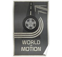World of Motion Poster
