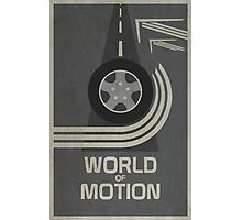 World of Motion Photographic Print