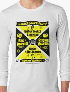 Buddy Holly's Winter Dance Party Long Sleeve T-Shirt