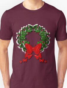 Butterfly wreath Unisex T-Shirt