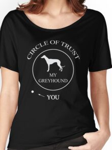 Funny Greyhound Dog Women's Relaxed Fit T-Shirt