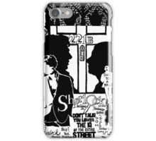 Mr. Holmes, I presume? iPhone Case/Skin