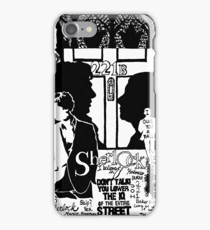 Mr. Holmes, I presume? iPhone Case/Skin
