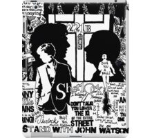 Mr. Holmes, I presume? iPad Case/Skin