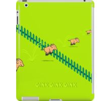 Jumping Pigs iPad Case/Skin