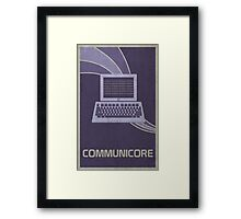Communicore Framed Print