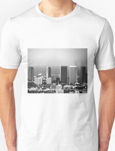 Black And White Cityscape 2  T-Shirt