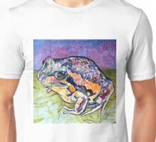 Pobblebonk Frog and Leaves Unisex T-Shirt