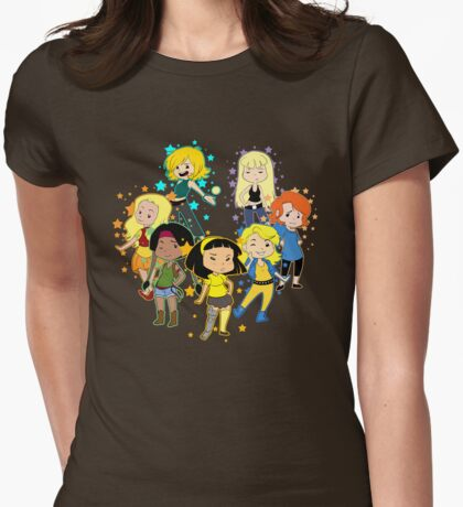 New Mutants Ladies Womens Fitted T-Shirt