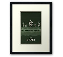 The Land Framed Print