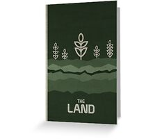 The Land Greeting Card