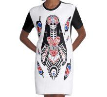 Haida Catrina Graphic T-Shirt Dress