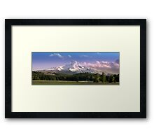 The Old Dude Ranch Framed Print