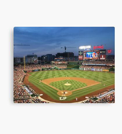 Baseball Stadium Canvas Print