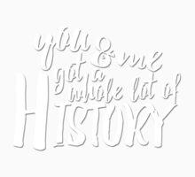 History Lyrics Black One Piece - Short Sleeve