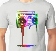 Boombox Rainbow Unisex T-Shirt