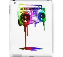 Boombox Rainbow iPad Case/Skin