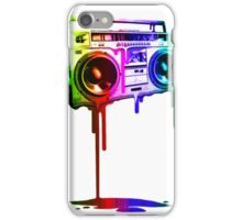 Boombox Rainbow iPhone Case/Skin
