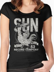 Sun Records : Rock N Roll Since '52 Women's Fitted Scoop T-Shirt