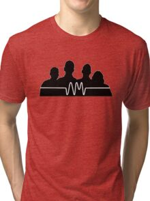 arctic monkeys silhouette  Tri-blend T-Shirt