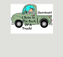 Survivor Riding Back Of Truck Unisex T-Shirt