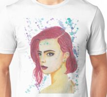 Skittles - Colorful Watercolor Portrait Unisex T-Shirt