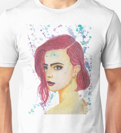 Skittles - Colorful Watercolor Portrait Unisex T-Shirt