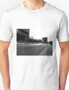 Black And White Cityscape 5 T-Shirt