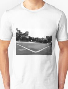 Black And White Cityscape 6 T-Shirt