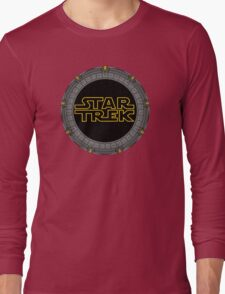 Starry Trek Gate Wars Long Sleeve T-Shirt