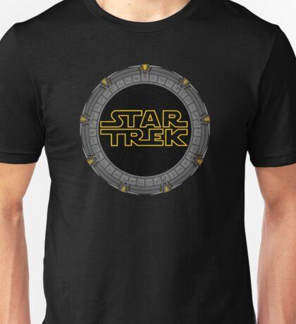 Starry Trek Gate Wars Unisex T-Shirt