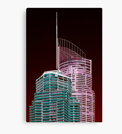Another world—Gold Coast City Canvas Print