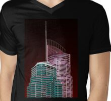 Another world—Gold Coast City Mens V-Neck T-Shirt