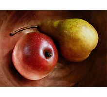 Pears Again in a Copper Bowl Photographic Print