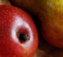 Pears Again in a Copper Bowl Sticker