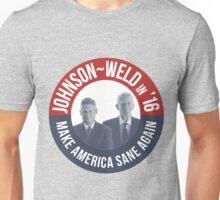Gary Johnson Weld Make America Sane Again Unisex T-Shirt