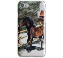 Running Horse iPhone Case/Skin