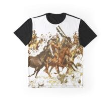 Crazy Horse Cavallo Pazzo Graphic T-Shirt