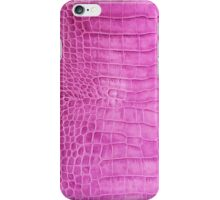 Pink Crocodile Skin iPhone Case/Skin
